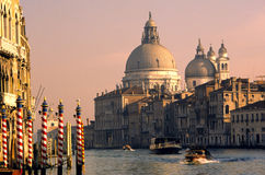 Venedig-Kanal-Ansicht stockfotografie
