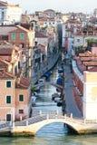 Venedig-Kanal-Ansicht stockbilder