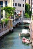 Venedig-Kanal-Ansicht stockbild