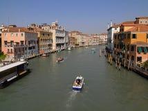 Venedig: Kanal groß Stockbild