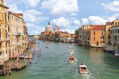 Venedig-Kanal groß stockbild