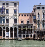 Venedig, Kanal groß Lizenzfreies Stockfoto