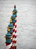 Venedig - Kanal groß, HDR Stockfotografie