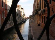 Venedig-Kanal, historischer Platz Stockbilder