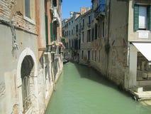 Venedig kanal - Italien Royaltyfri Bild