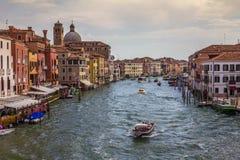 Venedig-Kanal in Italien Lizenzfreie Stockfotos
