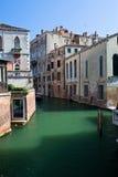 Venedig-Kanal am Sommer Lizenzfreies Stockbild
