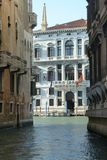 Venedig kanaler Arkivbilder