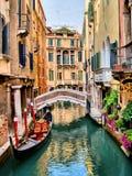 Venedig kanaler Royaltyfri Bild