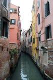 Venedig kanaler fotografering för bildbyråer