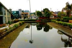 Venedig kanaler CA Fotografering för Bildbyråer