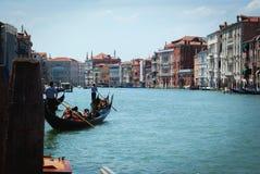 Venedig KanalLa Giudecca Fotografering för Bildbyråer