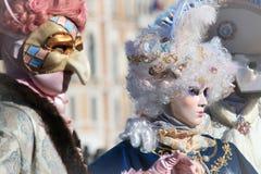 Venedig-Karneval 2016 stockfotografie