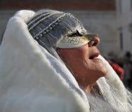Venedig karneval 2016 royaltyfria foton