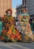 Venedig-Karneval Stockfoto