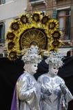 Venedig-Karneval 13 Lizenzfreies Stockbild