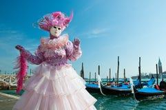 Venedig-Karneval stockfotos