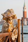 Venedig karneval arkivbild