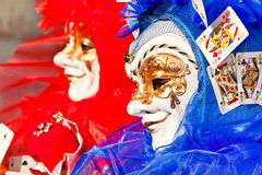 Venedig karneval arkivfoto