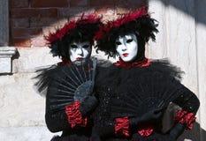 Venedig karneval Arkivfoton