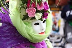 Venedig karneval 2015 Arkivbild