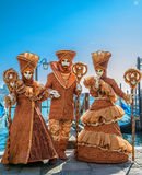 Venedig-Karneval 2009 Lizenzfreie Stockfotografie