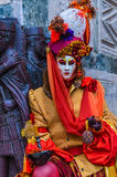 Venedig-Karneval 2009 Stockfotografie