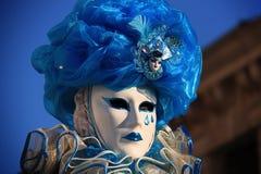 Venedig karneval 2016 Royaltyfria Bilder