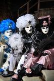 Venedig karneval 2016 Royaltyfri Fotografi