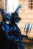 Venedig karneval 2016 Royaltyfri Foto