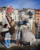 Venedig karneval 2016 Arkivbild