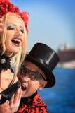 Venedig-Karneval 2016 Lizenzfreie Stockfotos