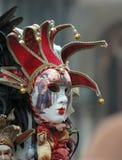 Venedig-Karneval in Italien stockbild