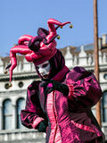 Venedig karneval, karnevaldi Venezia, Italien Royaltyfria Foton