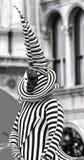 Venedig karneval Paricipant Arkivbilder