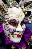 Venedig karneval Paricipant Royaltyfri Fotografi