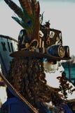 Venedig-Karneval, Porträt einer Maske, während des venetianischen Karnevals in der ganzen Stadt dort sind wunderbare Masken lizenzfreies stockbild