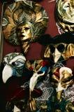 Venedig karnevals maskeringar N°1 arkivbild