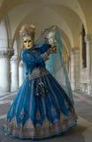 Venedig-Karnevals-Schablone Stockfotos