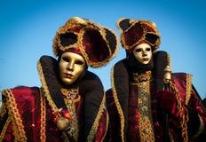 Venedig-Karnevalskostüm lizenzfreies stockfoto