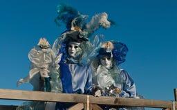 Venedig-Karnevalsmasken Stockfotos