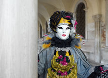 Venedig-Karnevalsschablone Stockbilder