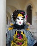 Venedig-Karnevalsschablone Lizenzfreie Stockfotos
