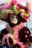 Venedig-Karnevalsschablone Lizenzfreie Stockfotografie