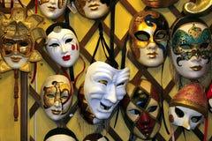 Venedig-Karnevalsschablone Lizenzfreies Stockbild
