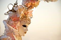 Venedig-Karnevalsschablone 2012 Lizenzfreie Stockfotos