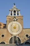Venedig klocka Arkivbild