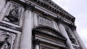 Venedig kyrka Arkivbild