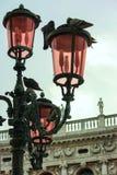 Venedig-Laternenpfahl Lizenzfreie Stockfotografie