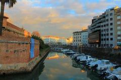 Venedig-Leghorn Stockfoto